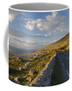 Road Along The Burren Coastline Region Coffee Mug
