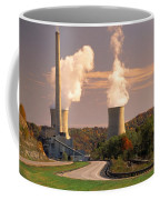Road And Nuclear Plant.  Kentucky Coffee Mug