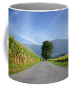 Road And Trees Coffee Mug