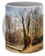 Road Curve With Trees Coffee Mug