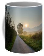 Road In Sunrise Coffee Mug