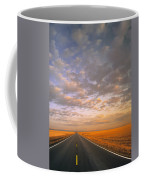 Road Into Sunset Coffee Mug