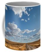 Road Near Ten Sleep Wyoming Coffee Mug