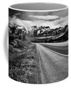 Road To Rocks  Coffee Mug