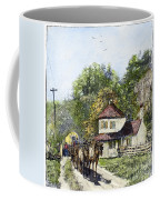 Road Travel, 19th Century Coffee Mug