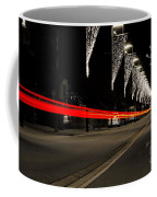 Road With Lights Coffee Mug