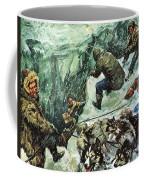 Roald Amundsen's Journey To The South Pole Coffee Mug