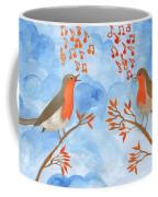 Robin Singing Competition Coffee Mug