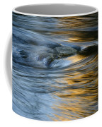 Rock And Blue Gold Water Coffee Mug