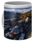 Rock And Fog Coffee Mug