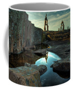 Rock Balancing Grand Marais Coffee Mug