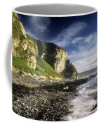 Rock Formations At The Coast Coffee Mug