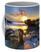 Rock Garden Coffee Mug by Debra and Dave Vanderlaan
