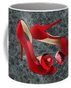 Rock Me Red Pom Poms Coffee Mug
