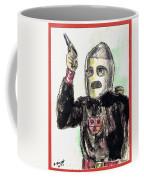 Rocket Man Coffee Mug by Mel Thompson