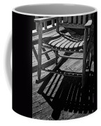 Rocking Chair Lit By The Afternoon Sun Coffee Mug