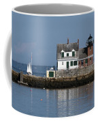 Rockland Breakwater Lighthouse Coffee Mug