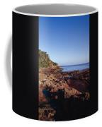 Rockpools In Volcanic Rock Formations Coffee Mug