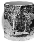 Rocks And Trees In Black And White Coffee Mug