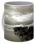 Rocks At Folly Beach Sc Coffee Mug