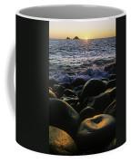 Rocks At The Coast, Giants Causeway Coffee Mug
