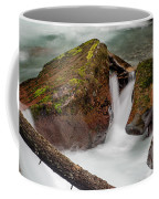 Rocks Of Avalanche Gorge Coffee Mug