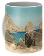 Rocks Of The Sirens Coffee Mug by Frederic Leighton