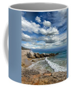 Rocky Coast In Malibu California Coffee Mug