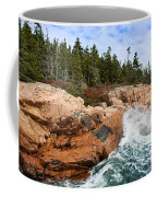 Rocky Maine Coastline. Coffee Mug