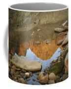 Rocky Mountain Peaks Are Reflected Coffee Mug
