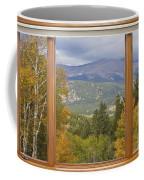 Rocky Mountain Picture Window Scenic View Coffee Mug