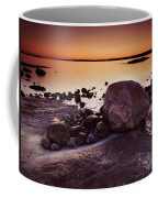 Rocky Shore At Twilight Coffee Mug