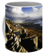 Rocky Vista Of Shoreline Coffee Mug