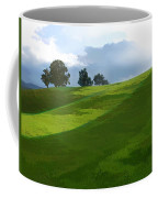 Rolling Green Fields At End Of Day  Coffee Mug