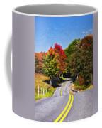 Rolling Thru West Virginia Impasto Coffee Mug
