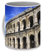 Roman Arena In Nimes France Coffee Mug