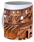 Roman Coliseum Interior Coffee Mug
