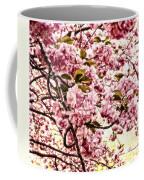 Romantic Cherry Blossoms Coffee Mug