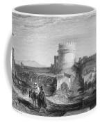 Rome: Appian Way, 1833 Coffee Mug