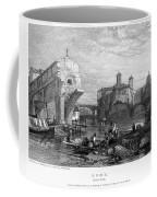 Rome: Ponte Rotto, 1833 Coffee Mug