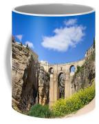 Ronda Bridge In Spain Coffee Mug