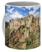 Ronda Rocks In Andalusia Coffee Mug