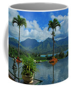 Rooftop Fountain In Paradise Coffee Mug