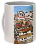 Rooftops In Puerto Vallarta Mexico Coffee Mug