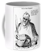 Roosevelt Cartoon, 1938 Coffee Mug