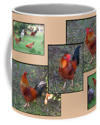 Rooster Red Coffee Mug