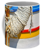 Rope And Boat Detail Coffee Mug