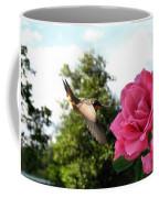 Rose And Rufous Coffee Mug