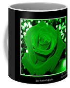 Rose With Green Coloring Added Coffee Mug