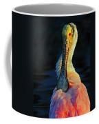 Roseate Spoonbill Preening Coffee Mug